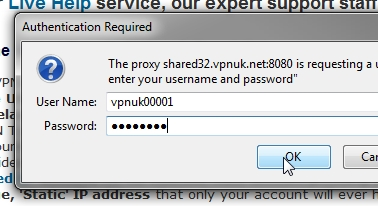 VPNUK Proxy setup part 5